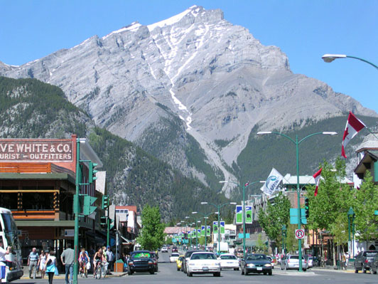 Banff photo by Taxi Mike